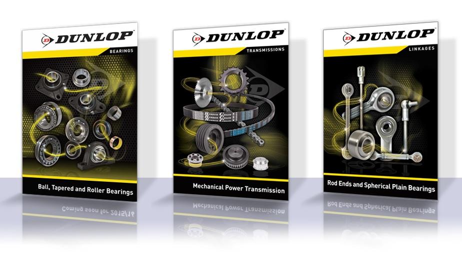 Dunlop catalogue-covers
